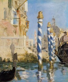 The Grand Canal, Venice (Edouard Manet - 1874)