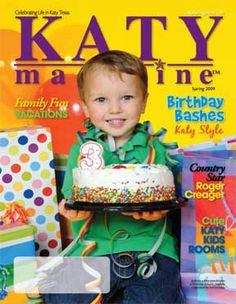 Katy Magazine Spring 2009 In TX KatyTX KatyMagazine Cake Birthday Yellow Gift Katymagazine