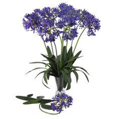 Nearly Natural 2129PP African Decorative Lily Stem 29Inch Purple ** Read more reviews of the product by visiting the link on the image.