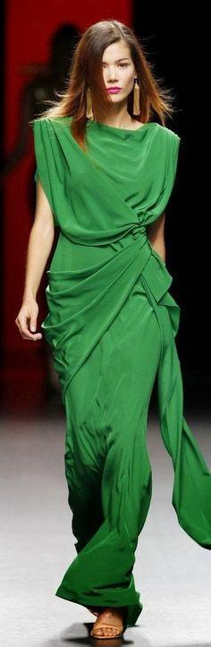 Green Color Long Dress Style | #Ethnicwholesale | visit www.ethnicwholesale.com