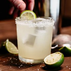 The Margarita is one of the most popular cocktails in North Americafor good reason. Combining the tang of lime and the sweetness of orange liqueur with the distinctive strength of tequila our classic Margarita strikes all of the right keys. Perfect Margarita, Margarita Mix, Margarita Cocktail, Margarita Recipes, Cocktail Drinks, Pineapple Margarita, Pineapple Juice, Most Popular Cocktails, Best Cocktail Recipes