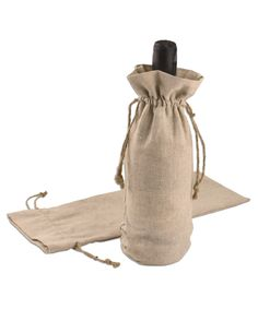 Linen Wine Bags - 6 x 14 (12 Pack) We could also use these 500d3bb56b368