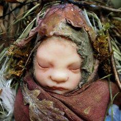 fairy baby dolls in swaddling | Fairy Baby