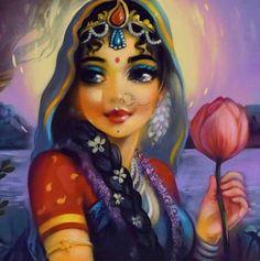 (Mural by Kardami Kapila. Lord Krishna Images, Radha Krishna Pictures, Radha Krishna Photo, Krishna Photos, Krishna Art, Krishna Leela, Baby Krishna, Shree Krishna, Radhe Krishna