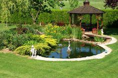 #bassin #jardin #MMMJ Bache Bassin, Bassin Koi, Bien Immobilier, Déco