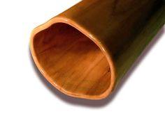 Woodslide Didgeridoo - (Detailansicht / Bell-end) Kirsche