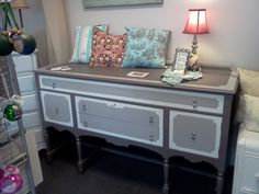 Sold. Handpainted Furniture Blog, Shabby Chic Vintage Painted Furniture: Buffets