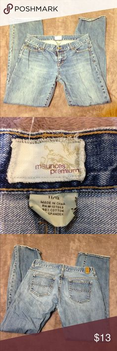 cute Maurice's jeans. •LISTING INFO COMING SOON• -I will be listing stuff all day so in order to get everything listed I will be adding the info for each item later on. thank you for checking out my stuff and if you have any questions feel free to ask away!   Ⓜ️erc. ✔️ ✔️TRADES. 👎🏼NO holds. 📦Shipping same day or next.      •I do no ship Sat or Sun. Maurices Jeans Boot Cut