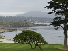 Pebble Beach, California it's gorgeous and John loves the golf course pebble beach