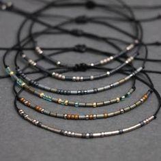 Metallic Morse Code Bracelet – NatureWish Diy Bracelets For Boyfriend, Great Gifts For Boyfriend, Couple Bracelets, Bracelets For Men, Beaded Bracelets, Morse Code Bracelet, Bracelet Sizes, Diy Jewelry, Jewlery