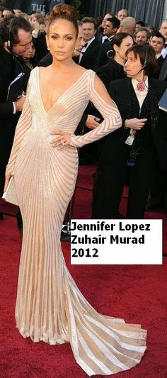 JLo, Oscars 2012 red carpet