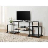 """3-cube Media Entertainment Center for Tvs up to 40"""" Plasma Television Cabinets Flat Screen Stand Stands Storage Organizer Home Living Room Furniture Black Sale Modern @ kaiseronlineventures.com"""