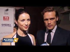 Caitriona Balfe & Sam Heughan talk about Outlander S2