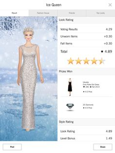 Ice Princess - Covet Fashion 4.50+ rating
