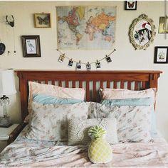 Imagem de bedroom and room