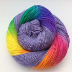 Busy weekend of dyeing, lots of sparkly new rainbows around the place!