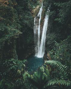 """drxgonfly: """"Aling-Aling Waterfall, Bali (by Arga Daneshwara // Instagram) """""""