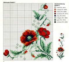 Babóca: A beautiful cross stitch tablecloth – Embroidery Desing Ideas Cross Stitch Fruit, Beaded Cross Stitch, Cross Stitch Borders, Cross Stitch Flowers, Cross Stitch Designs, Cross Stitching, Cross Stitch Embroidery, Cross Stitch Patterns, Rico Design