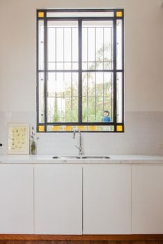 158_27 Luz Natural, House Goals, House Colors, Double Vanity, Stained Glass, Sweet Home, Exterior, Windows, Doors