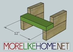 More Like Home: Day 27 - Build a Simple Step Stool 2x4 Wood Projects, Diy Pallet Projects, Woodworking Projects Plans, Diy Woodworking, Furniture Projects, Car Furniture, Woodworking Magazine, Plywood Furniture, Modern Furniture