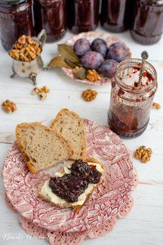 Gem de prune fara zahar Camembert Cheese, Deserts, Dairy, Pie, Food, Torte, Desserts, Pastel, Meal