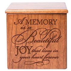 Cremation Urn For Human Ashes Small Memorial Keepsake Box cubic inches) 803422683383 Keepsake Urns, Keepsake Boxes, Dog Urns, Pet Cremation Urns, Human Ashes, Funeral Urns, Pet Memorial Gifts, Memories, Felt