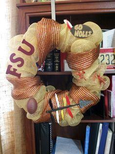 Florida State Seminoles Wreath