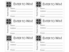 Large Raffle Ticket  Diy    Raffle Tickets Template