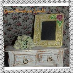 Guarda questo articolo nel mio negozio Etsy https://www.etsy.com/it/listing/533218883/specchio-casa-delle-bamboledollshouse