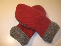 Pinconning Wool & Cashmere Mittens  lg/xlg  by MichMittensbyLauri, $28.00