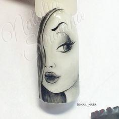 Easter Nail Designs, Nail Designs Spring, Nail Art Designs, Pop Art Nails, Nail Art Diy, Vintage Nail Art, Punk Nails, Nail Art Wheel, Japanese Nail Design