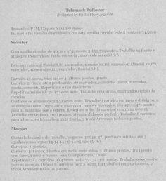 Telemark Pullover - receita em português