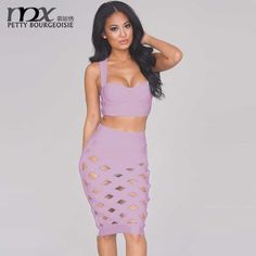 MNX New Arrival European Style 2 piece Set Crop Top Skirt Spaghetti Strap Cross Back Sexy Hollow Suit Midi survetement femme - http://www.aliexpress.com/item/MNX-New-Arrival-European-Style-2-piece-Set-Crop-Top-Skirt-Spaghetti-Strap-Cross-Back-Sexy-Hollow-Suit-Midi-survetement-femme/32422686492.html