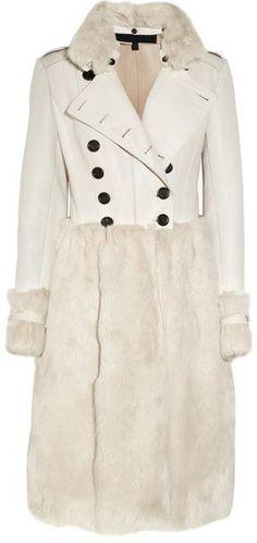 Комбинированные пальто