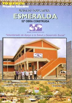Our 10-classroom school project in Esmeralda, Bolivia is now complete!