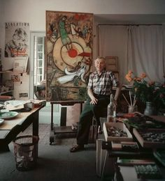 Marc Chagall, painter.