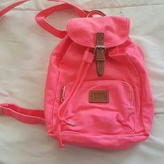 Mini PINK backpack Small backpack hardley used Victoria's Secret Bags Backpacks