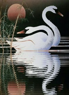 ca bouge - Page 71 Glass Painting Designs, Paint Designs, Vogel Gif, Swan Jewelry, Amazing Gifs, Wow Art, Animal Drawings, Good Night, Animals Beautiful