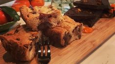 Sticky toffee tray bakes and chocolate and clementine bars
