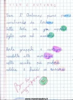 Quaderno di poesie classe seconda