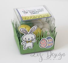 Stampin Up Basket Bunch Easter Stampin with Liz Design