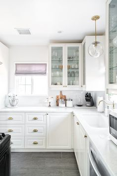 Our Kitchen remodel, a source list + shopping for new appliances. #herestohome
