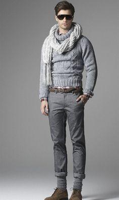 Moda Uomo - Elegante e sofisticato ma allo stesso tempo casual. Per l'Autunno –Inverno 2012-2013 Era Milano fa tendenza.