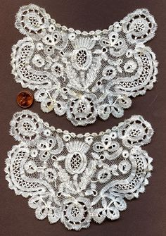 Honiton lace applique