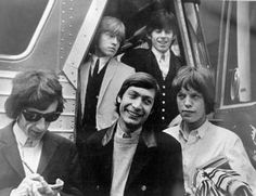 FRED BAUMAN/FILE PHOTO  The Rolling Stones arrive at the Swing Auditorium in San Bernardino, Spring 1964, for their first American concert. A concert in San Bernardino is honoring the Swing's longtime promoter in June.