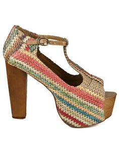 Choice & Attitude is an independent fashion store-webstore relates with street and casual clothing, shoes and accessories. Coral Blue, Jeffrey Campbell, Attitude, Peep Toe, Women Wear, Shoe Bag, Sandals, Heels, Polyvore