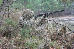 CamoSystems Jackal Woodland Sniper Ghillie Suit (Amston,). Hunting & Shooting Accessories