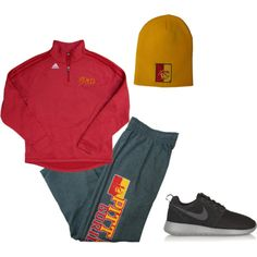 """""""comfy and sporty"""" by pittstategear on Polyvore"""