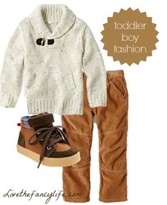 perfect outfit for my lil' ones for Fall. ..Budget-friendly Toddler boy outfit from Joe Fresh