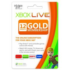 New Xbox Live 12 Month Gold Card Simultaneous Talk Intelligent Matchmaking Leagues Ladders by Xbox 360 « Game Searches Coding Software, Xbox 1, Buy Xbox, Playstation, Game Codes, Xbox 360 Games, Arcade Games, Xbox Live, Free Gift Cards